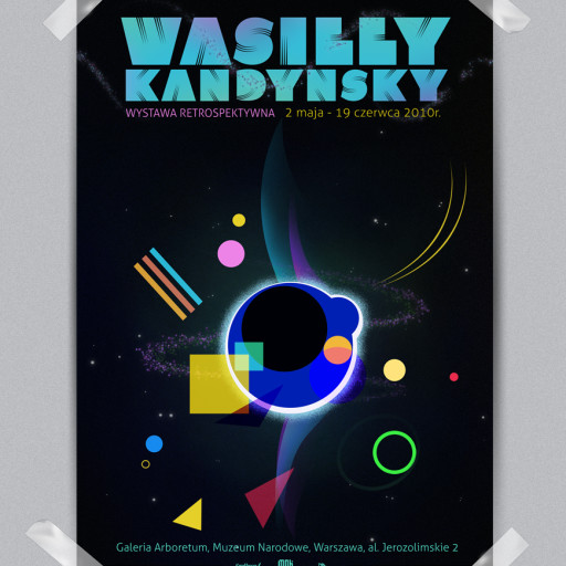 Wyższa Szkoła Artystyczna w Warszawie | Plakat do wystawy