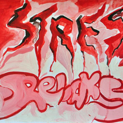wyzszaszkolaartystyczna, sztukanowychmediow, grafika, plakat, emocja, strach, gniew, wiara, stres, spokoj