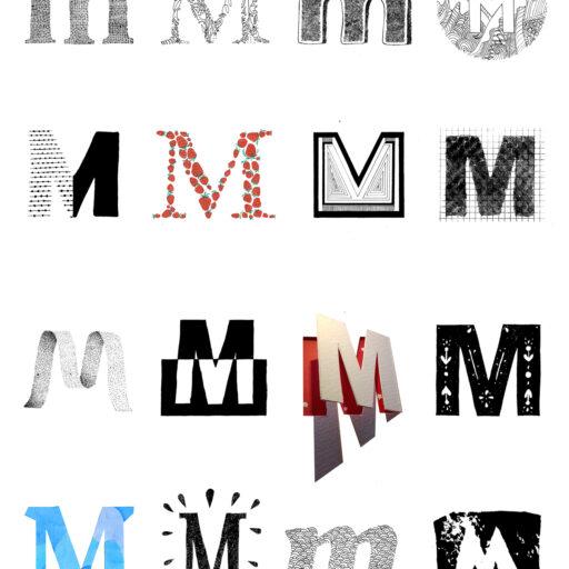 wyzszaszkolaartystyczna, sztukanowychmediow, animacja, multimedia, grafika, litera, poster, kreatywnekierunkistudiow